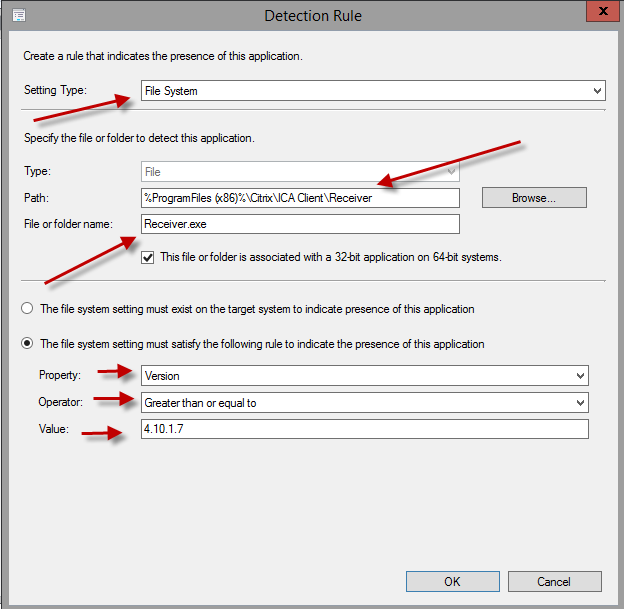 Deploying Citrix Receiver through SCCM and enabling SSON